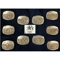 Olympic Buckle Collection