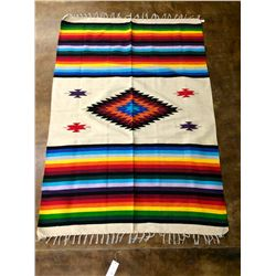 Colorful Southwestern Style Blanket