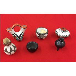 Miniature Pueblo Pottery Group