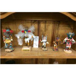 Group of Miniature Kachina Dolls