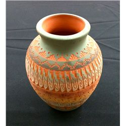 Etched Navajo Pottery