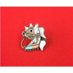 Circa 1950's /60's Zuni Horsehead Ring