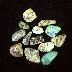 African Turquoise (Jasper) Lot