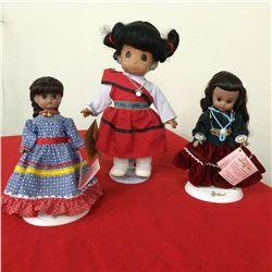 Native American Doll Lot