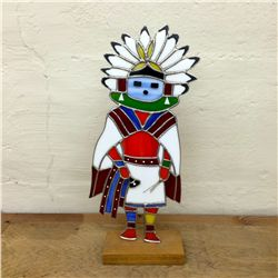 Stained Glass Kachina Dancer