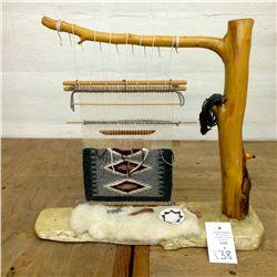 Navajo Weavers Loom