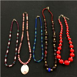 Bead Necklace Lot