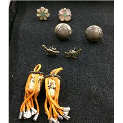 Native American Earring Lot
