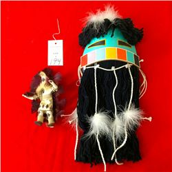 Hopi Dance Mask & Navajo Kachina
