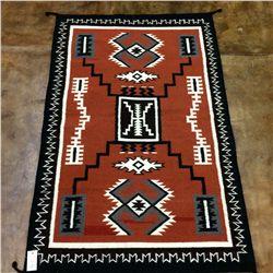 Zapotec Storm Pattern Rug