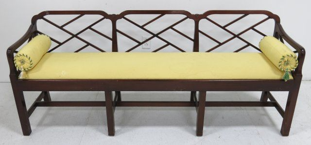 Amazing Smith Watson Mahogany Window Bench Machost Co Dining Chair Design Ideas Machostcouk