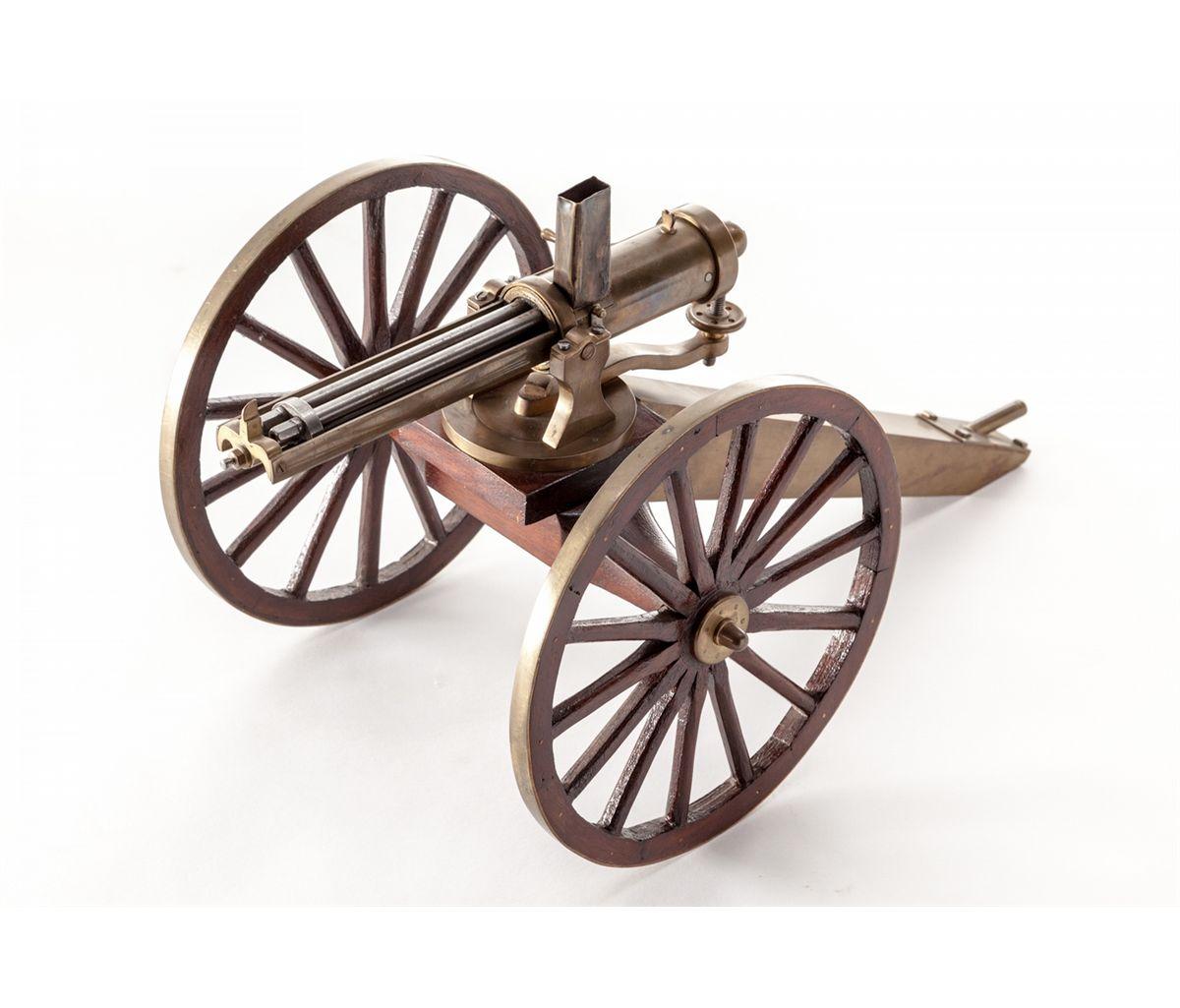 Machinist made Quarter Scale Gatling Gun