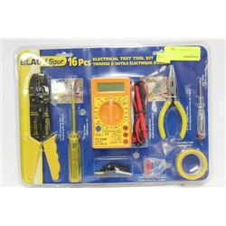 16 PC ELECTRICAL TEST TOOL KIT