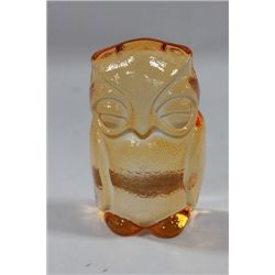 NACHTMANN ORANGE CRYSTAL OWL