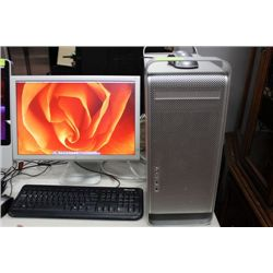 APPLE DESKTOP WITH DUAL PROCESSORS/500GB HDD