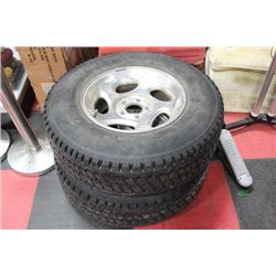 TWO(2) FIRESTONE TIRES LT245/75R16