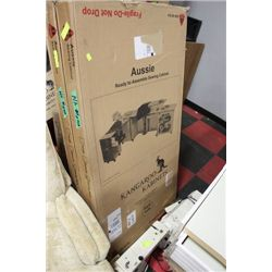 NEW IN 4 BOXES KANGAROO CABINET SEWING CENTER