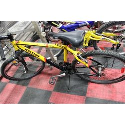 RALEIGH 21 SPEED FRONT SUSPENSION MOUNTAIN BIKE