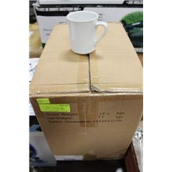 CASE OF 36  REDWARE COMMERCIAL GRADE COFFEE CUPS