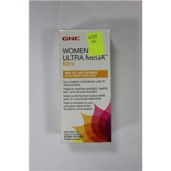 90 WOMENS ULTRA MEGA MINI MULTI VITAMIN CAPLETS