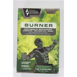 120 CAPSULES OF BURNER METABOLIC ENHANCER