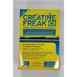 90 CAPLETS CREATINE FREAK CONCENTRATED CREATINE