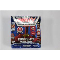 4 ISOFLEX CHOCOLATE FLAVOURED PROTEIN SHAKES