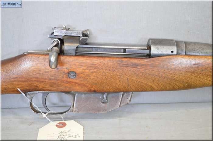 Ross Mod M10 Mark III  303 Brit cal straight pull bolt