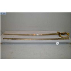 Imperial Japanese Sword Ca 1800's [ w/family crest on hilt ]