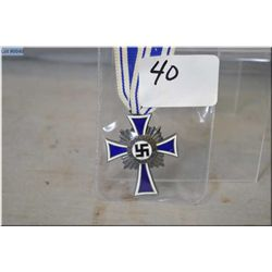 Nazi Mother's Cross in silver grade
