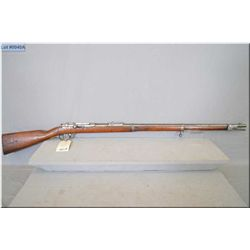 "Mauser Mod Gewehr 1871 Single Shot .11 MM Mauser /.43 Mauser cal full wood Military Rifle w/33"" bbl"
