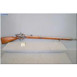 "Bavarian Podewils Mod M 1858/67 .13.9 MM  cal single shot full wood Military Rifle w/35"" bbl [ blue"