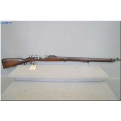 "Kropatschek M1886 .8 x 60 R  cal bolt action full wood Military  Rifle w/ 32"" bbl  [ Portuguese blue"