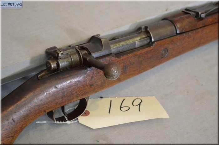 Mauser T C  ANKARA Mod 1903 Turkish Dated 1933  8 MM Mauser Cal bolt