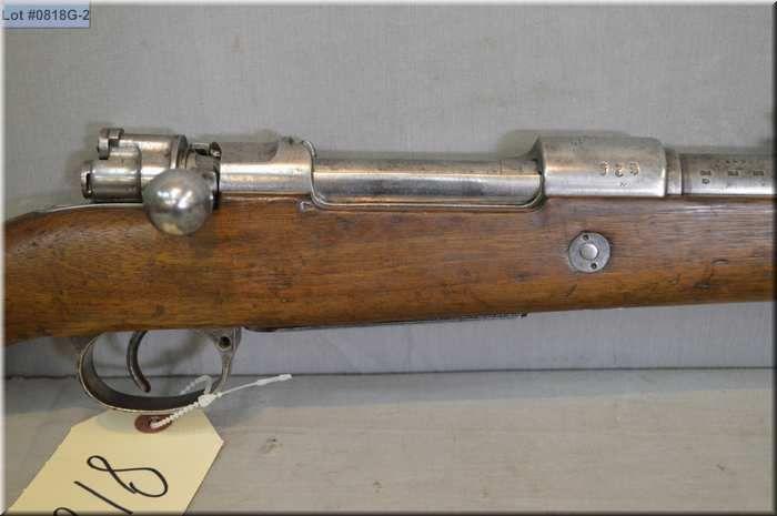 German Mauser ( Danzig Dated 1916 ) Mod Gewehr 98  8 mm
