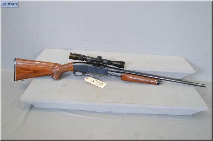 Remington Mod 7600  30-06 cal mag fed pump action Rifle w