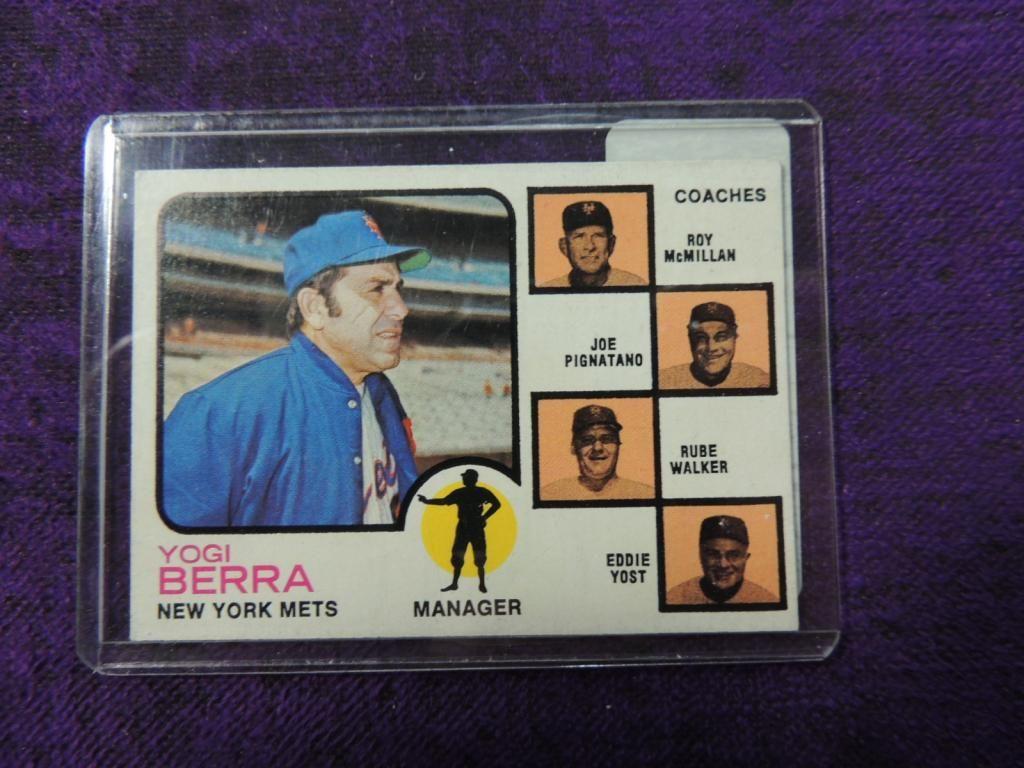 1973 Topps Yogi Berra 257 Baseball Card