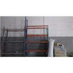 Pallet shelving 4 bars