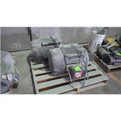 2 large motors on pallet