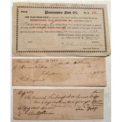 Historically important early check from a pioneer of covered bridges in the United States!