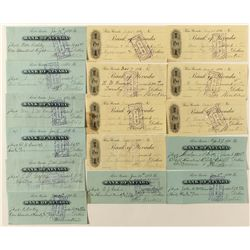 Theodore Winters Bank of Nevada checks