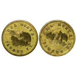Yukon Gold Rush Token: Del Monte yellow