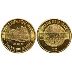 Tuolumne County California Transportation Tokens