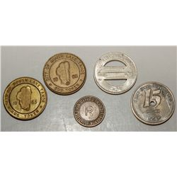 California Transportation Tokens
