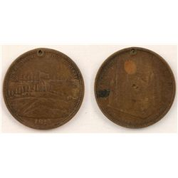 Post Office Token, Fort McHenry