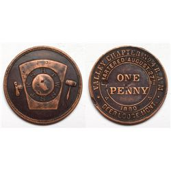Deer Lodge Masonic One Penny