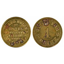 Grand Union Hotel Token ~ Fake