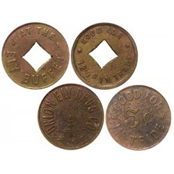 Ely Buffet and Union Ely Drug tokens