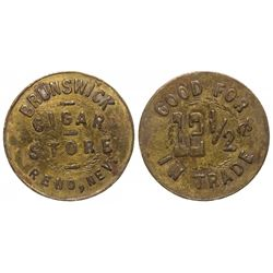 Brunswick Cigar Store Token