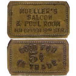 Mueller's Saloon & Pool Room, New York